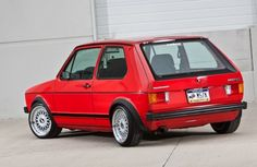 1979 Volkswagen Rabbit Euro GTI Conversion. I had a 1978 Rabbit which is what started my VW love affair.