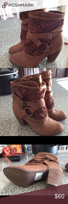 Not rated boots Brand new ,  Never worn Buckle Shoes Ankle Boots & Booties