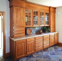 inspiration for our wall of cabinets in the dining room only more variances in depth - Dining Room Wall Cabinets