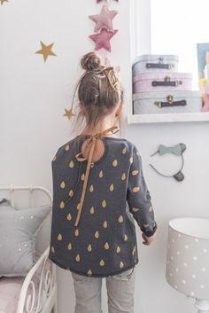Bluza BASIC DROPS - Zuzubunny - Sukienki dla dziewczynek