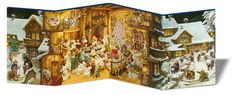 Mein Adventskalender-Panorama Toddler Books, Philippe, Illustrations, German, Baby, Images, Searching, Advent Calendar, Deutsch