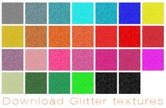 Free glitter patterns for photoshop!