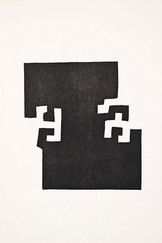 Eduardo Chillida, works on paper – from the series Elogio a la luz.