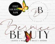 Beauty logo design | Etsy Beauty Logo, Logo Design, Logos, News, Logo, Legos