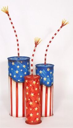inspiration for a 4th of July DIY (not a tutorial)