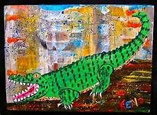 ALLIGATOR PAINTINGS - Yahoo Image Search Results