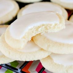 Butter Almond Meltaways are light, delicate, melt in your mouth cookies. Good luck eating just one!