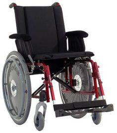 Cadeira de rodas manual.