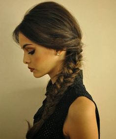 All Time Best One Sided Fishtail Braided Hairstyles 2018 to Look Pretty and Young