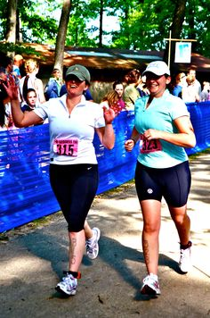Women's Only Triathlon! You go girls :)