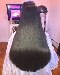 Hair goals via Brooklyn stylist @jazzling So healthy ❤️ #voiceofhair voiceofhair.com