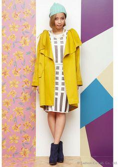 knit skirt: リリーブラウン ストライプニットスカート - shopstyle.co.jp