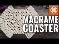 Macrame Owl, Macrame Knots, Free Macrame Patterns, Mug Rug Patterns, Boho Home, Diy Coasters, Macrame Plant Hangers, Macrame Projects, Decoration