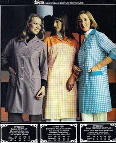 Nylons, Blouse Nylon, Apron, Overalls, Contrast, Entertainment, Women's Fashion, Coats, Shirt Dress