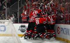 Download wallpapers New Jersey Devils, hockey club, New Jersey, USA, NHL, team, hockey stadium, match