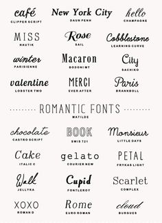 A Few of My Favorite Things: Best Fonts for Free