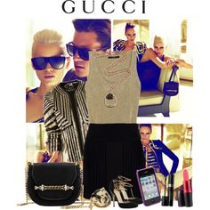 Gucci, created by adriana-adrielle on Polyvore