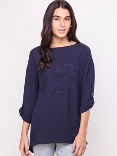 WAREHOUSE Embroidered Detail Woven Top online available from koovs Trendy Tops For Women, Warehouse, Tunic Tops, India, Detail, Stuff To Buy, Shopping, Fashion, Moda
