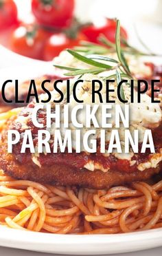 Rachael Ray: Chicken Parmigiana Recipe with Seasoned Breadcrumbs Fall Recipes, Great Recipes, Favorite Recipes, Recipes Dinner, Food Network Recipes, Cooking Recipes, Chicken Parmigiana, Banting Recipes, Sauce For Chicken