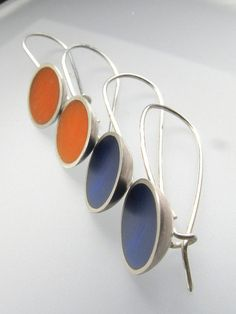 New! Cup Earrings by Quercus Silver, via Flickr