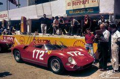 Scarfiotti/Mairesse, Ferrari 250P (Targa Florio 1963)