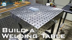 """Today we've got an unusual look at a super sweet piece of LOW tech gear that requires a little """"how to"""" knowledge to assemble. Namely, a brand new welding table from the guys over at WeldTables.com. If you follow my How to Weld video that should be about all you need to know in order …"""