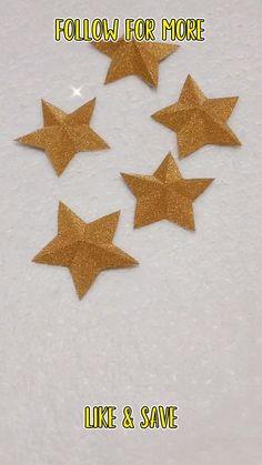 Diy Eid Cards, Ramadan Cards, Eid Crafts, Diy Crafts For Gifts, Paper Crafts, Diy Paper Christmas Tree, 3d Christmas, Toddler Crafts, Preschool Crafts