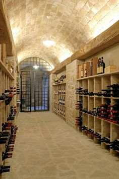 Todi Villa by Alhadeff Architects #WineCellar