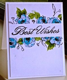 allycat cards: Best Wishes