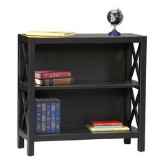 Have to have it. Linon Anna 2-Shelf Wood Bookcase $117.99