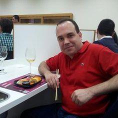 Nuestro amigo y cliente Jorge no se quiso perder la cita :)