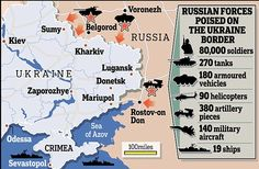 Russian Red Army Masses 80,000 Troops On Ukraine Border
