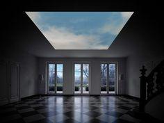 Hypersky: digital magritte, via greg j smith