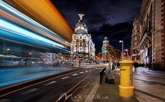 Madrid Spain Streetscape