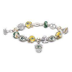 Green Bay Packers Charm Bracelet & Jewelry