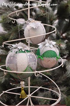 Bolas de patchwork sin aguja: nuevas ideas para decorarlas de forma original / No sew Christmas balls / Christmas ornaments crafts/ Quilted balls