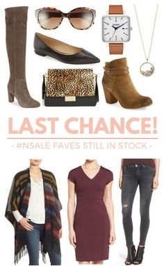 #NSale Last Chance! Just 2 more days to get new fall 2016 styles at deep discounts!