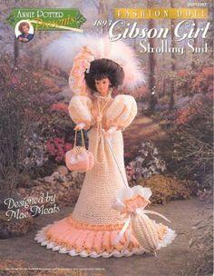 Free Copy of Crochet Pattern - 1893 Gibson Girl Strolling Suit