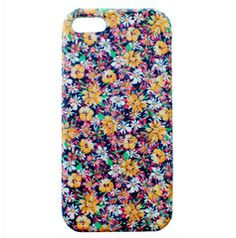 Golden Flowers Leather iPhone 5 Case: http://shop.nylonmag.com/collections/whats-new/products/golden-flowers-leather-iphone-5-case #NYLONshop