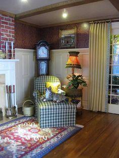 231 Best Dollhouse Living Room Images Miniature Houses Dollhouse
