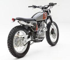 2015 SR400 custom scrambler from Yamaha US and Jeff Palhegyi Design.