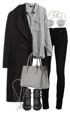 """Untitled #8329"" by nikka-phillips ❤ liked on Polyvore featuring Wildfox, Paige Denim, H&M, Organic by John Patrick, Zara, Prada, Yves Saint Laurent, Maison Margiela and Vanessa Mooney"