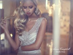 Beautiful Crystal Beaded Wedding Dresses from Anna Campbell