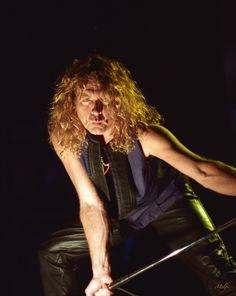 Robert Plant By Frank Melfi