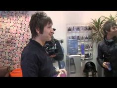 Liam Gallagher, Gem & Andy talk to ANDY NEWMARK