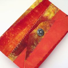 Journal Cover Reusable Large Moleskine Notebook by PolkadotPossum, $35.00