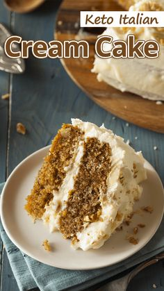 Keto Italian Cream Cake – This is a classic cake recipe. The finished cake is a work of art but is not as easy to make as most low carb cakes… Keto Italian Cream Cake – This is a classic cake recipe. The finished cake is a work of art but is not as easy … Keto Friendly Desserts, Low Carb Desserts, Low Carb Recipes, Desserts For Diabetics, Diabetic Cake Recipes, Protein Recipes, Healthy Recipes, Tiramisu Dessert, Bon Dessert