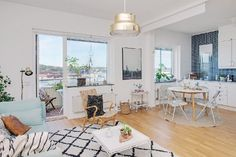 Calmness and Well Being Inspired by One-Room Apartment in Gothenburg - http://www.interiorredesignseminar.com/interior-design-inspirations/calmness-and-well-being-inspired-by-one-room-apartment-in-gothenburg/