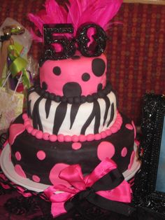 My mom has a big birthday coming up! I need to get this made for her! 50th Birthday Cake