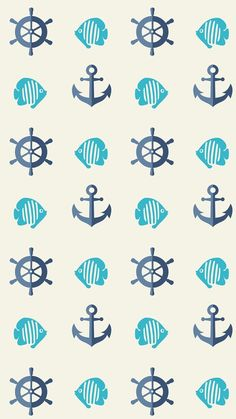 Image about wallpapers in Fondos :) by Natalia Anchor Wallpaper, Nautical Wallpaper, Owl Wallpaper, Cute Wallpaper Backgrounds, Pretty Wallpapers, Computer Wallpaper, Disney Wallpaper, Summer Wallpaper, Mermaid Wallpapers